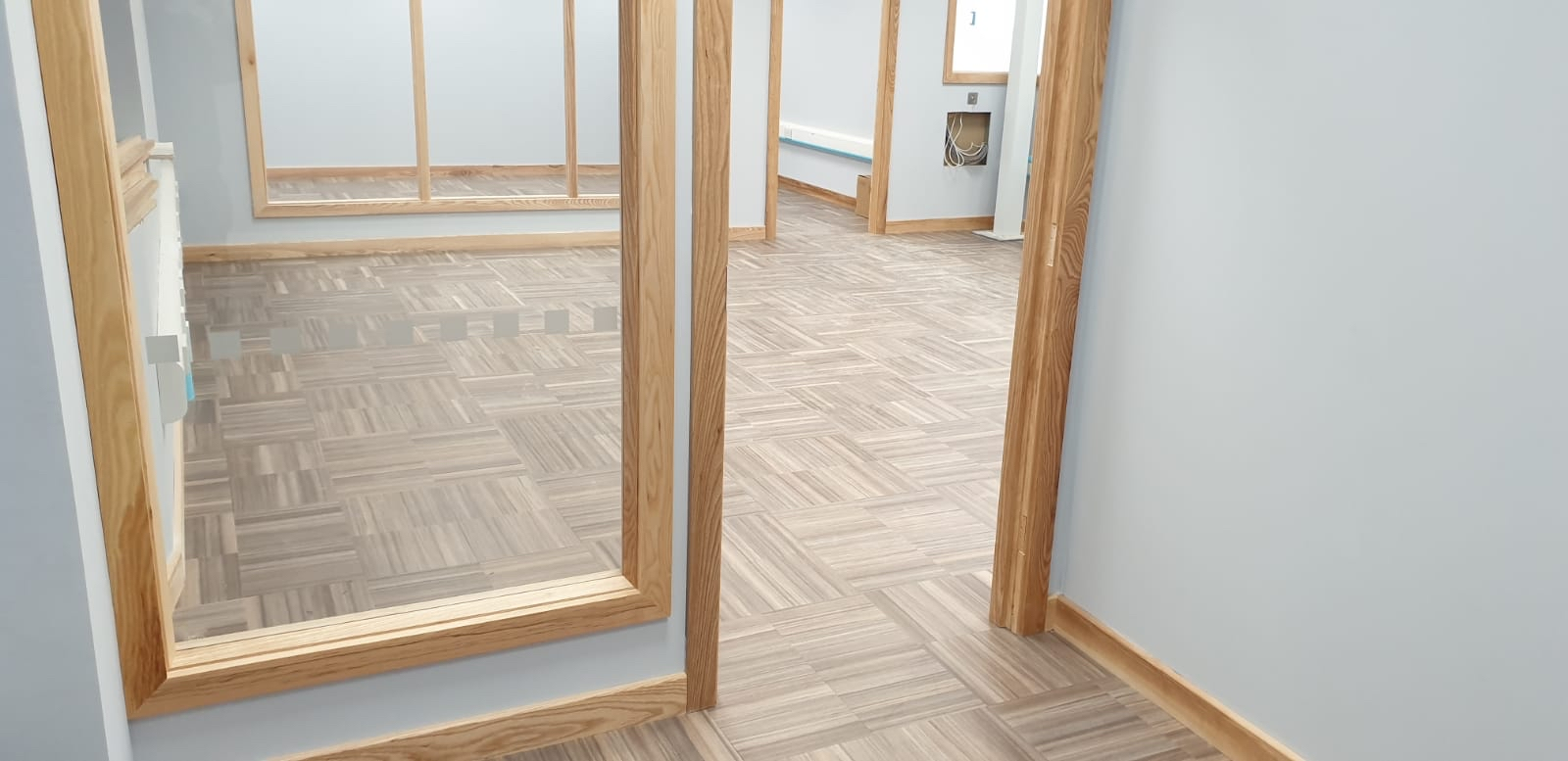 CEI Electrical Wholesalers Amtico tiles to offices