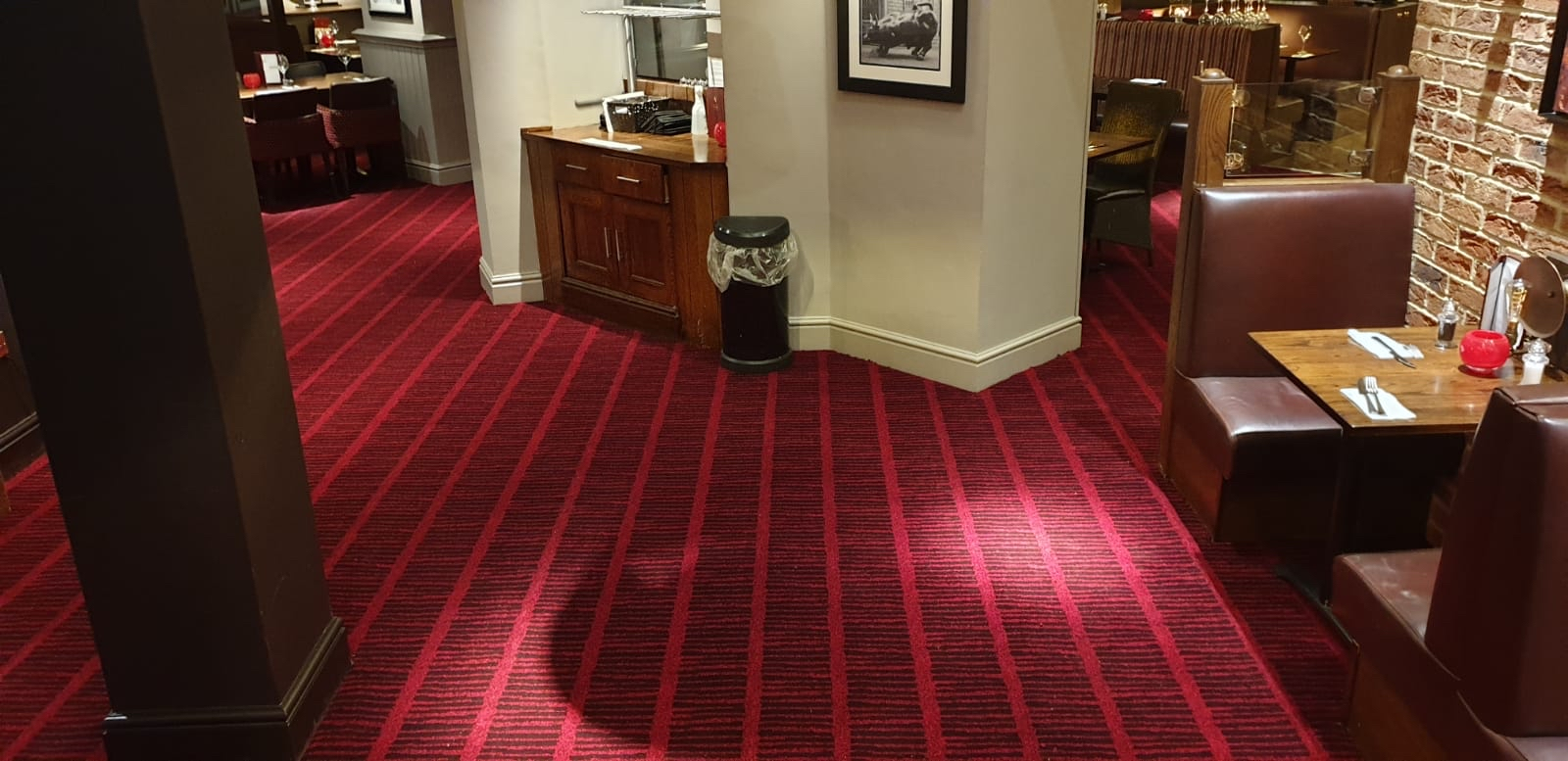 Mitchells and Butlers Miller and Carter traditional carpet